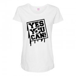 yes u can Maternity Scoop Neck T-shirt | Artistshot