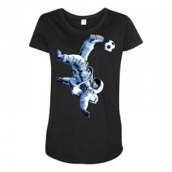 """""""buzz aldrin"""" always sounded like a sports name Maternity Scoop Neck T-shirt 
