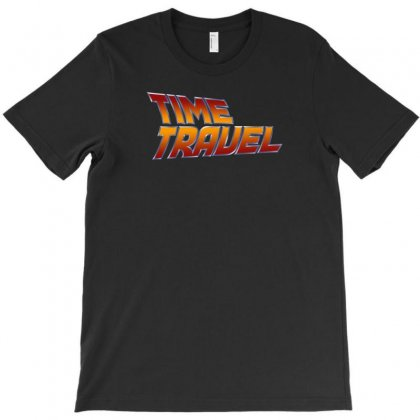 Time Travel T-shirt Designed By Love