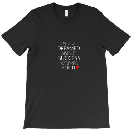 I Never T-shirt Designed By Love