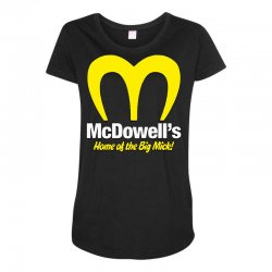 mcdowells Maternity Scoop Neck T-shirt | Artistshot