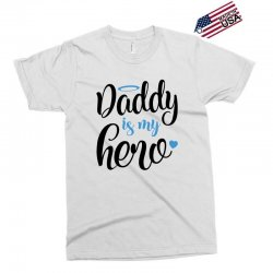 c75c12071 Custom Daddy Is My Hero Baby Boy T-shirt By Bigdlab - Artistshot