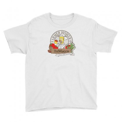Farmer Homer's Tomacco Youth Tee Designed By Monzart