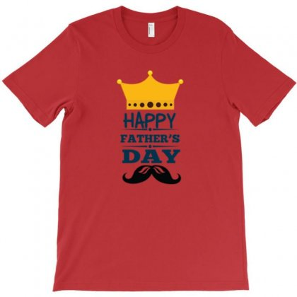 Happy Fathers Day T-shirt Designed By Danscollection