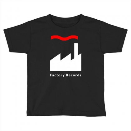 Factory Records   Retro Record Label   Mens Music Toddler T-shirt Designed By Hendada