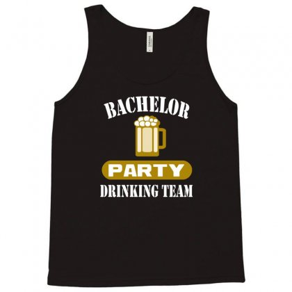 Bachelor Party Drinking Team Wedding Groomsmen Bridal Funny Tank Top Designed By Hendada