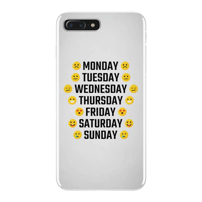 Moods Of The Week Daily Emoji Iphone 7 Plus Case  By Artistshot
