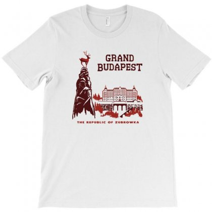 Grand Budapest Hotel T-shirt Designed By Monzart