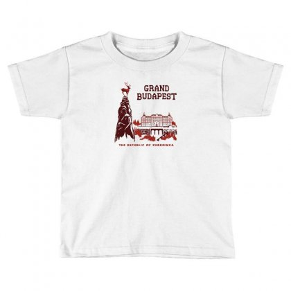 Grand Budapest Hotel Toddler T-shirt Designed By Monzart