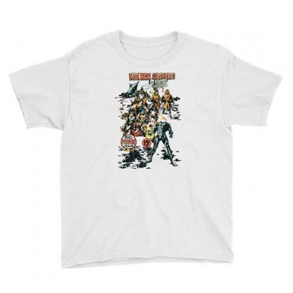 Historical Superheroes Youth Tee Designed By Monzart