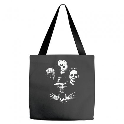 Horror Icons Tote Bags Designed By Monzart