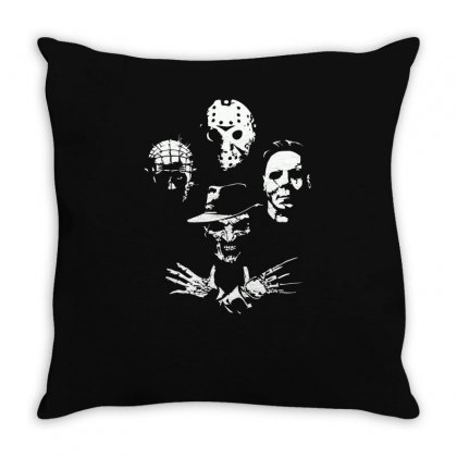Horror Icons Throw Pillow Designed By Monzart