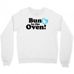 98025217ef29 Custom Bun In The Oven With Heart Baby Boy Ladies Curvy T-shirt By ...