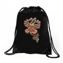in space no one can hear you scream Drawstring Bags | Artistshot