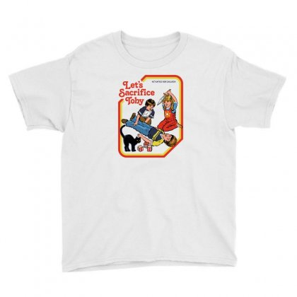 Let's Sacrifice Toby Youth Tee Designed By Monzart
