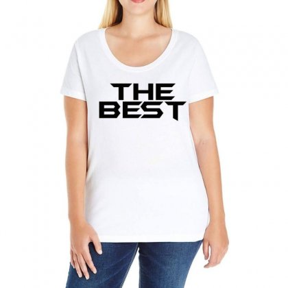 The Best Ladies Curvy T-shirt Designed By Love