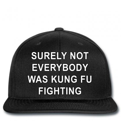 Surely Not Everybody Was Kung Fu Fighting Snapback Designed By Killakam