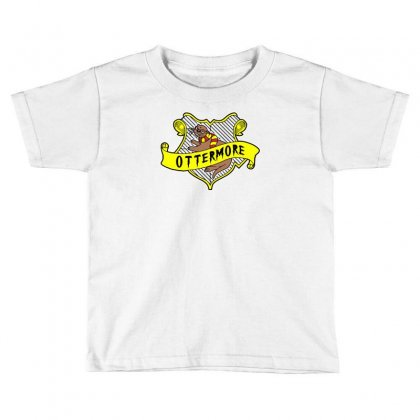Ottermore Toddler T-shirt Designed By Monzart