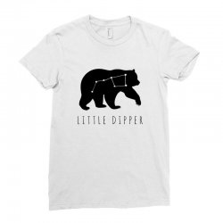 Big Dipper - Little Dipper Family Matching Ladies Fitted T-Shirt | Artistshot