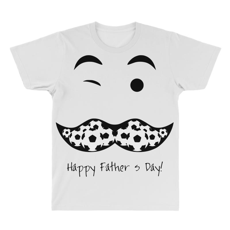 391df9ea4 Custom Happy Fathers Day 2 All Over Men's T-shirt By Sbm052017 ...