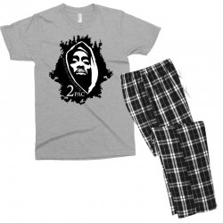 tupac (5x) Men's T-shirt Pajama Set | Artistshot