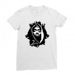 tupac (5x) Ladies Fitted T-Shirt | Artistshot