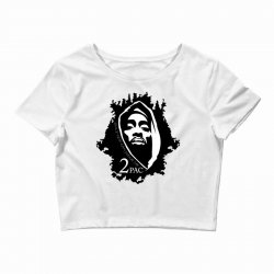 tupac (5x) Crop Top | Artistshot