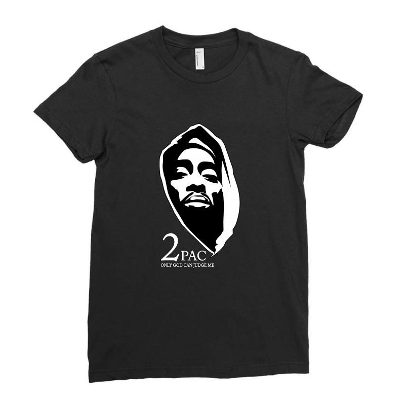 Tupac (5) Ladies Fitted T-shirt | Artistshot
