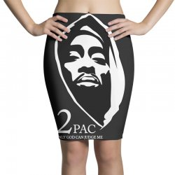 tupac (5) Pencil Skirts | Artistshot