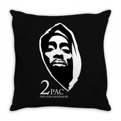 tupac (5) Throw Pillow | Artistshot