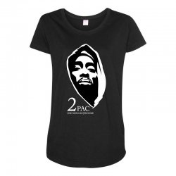 tupac (5) Maternity Scoop Neck T-shirt | Artistshot