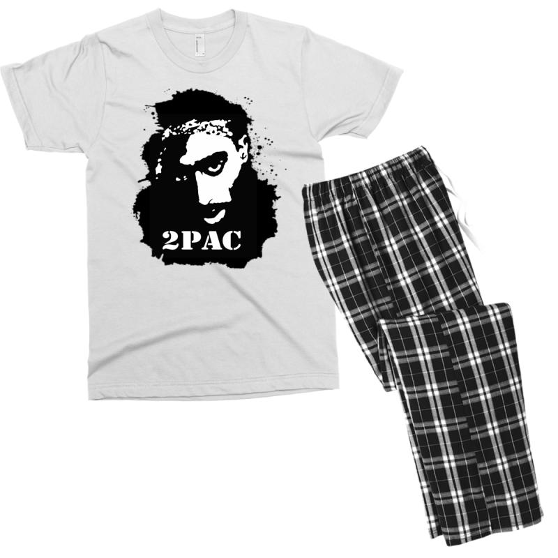 Tupac (4x) Men's T-shirt Pajama Set | Artistshot