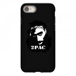 tupac (4x) iPhone 8 Case | Artistshot