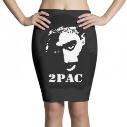 tupac (4x) Pencil Skirts | Artistshot