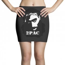 tupac (4x) Mini Skirts | Artistshot