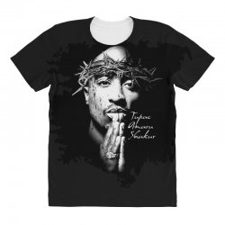tupac (2x) All Over Women's T-shirt | Artistshot