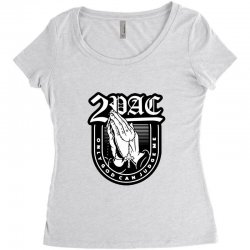 tupac (3) Women's Triblend Scoop T-shirt | Artistshot