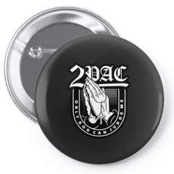 tupac (3) Pin-back button | Artistshot