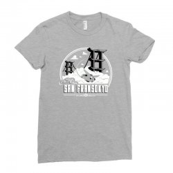 greetings from san fransokyo Ladies Fitted T-Shirt | Artistshot