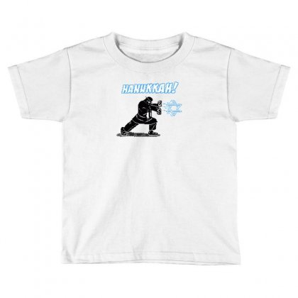 Hanukkah! Toddler T-shirt Designed By Mash Art