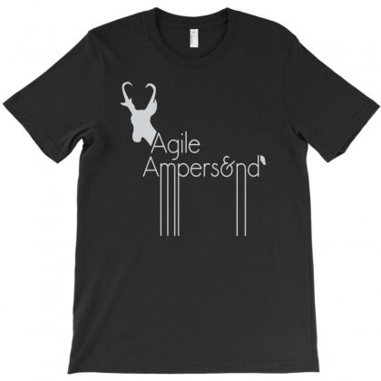 Agile Ampers T-shirt Designed By Firstore