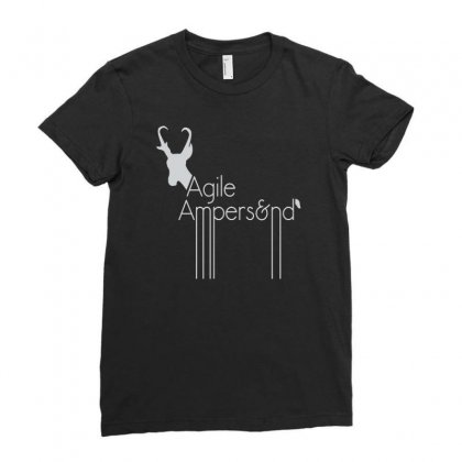 Agile Ampers Ladies Fitted T-shirt Designed By Firstore