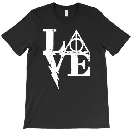 Harry Love T-shirt Designed By Mash Art