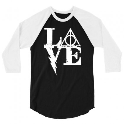 Harry Love 3/4 Sleeve Shirt Designed By Mash Art