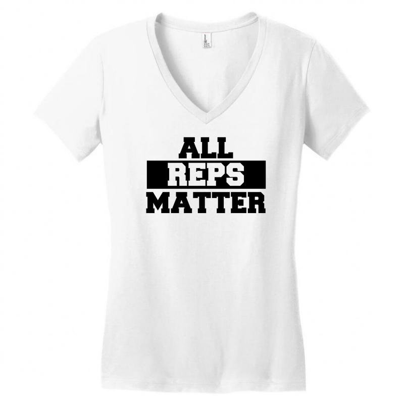 7a963c2eed Custom All Reps Matter Women s V-neck T-shirt By Firstore - Artistshot