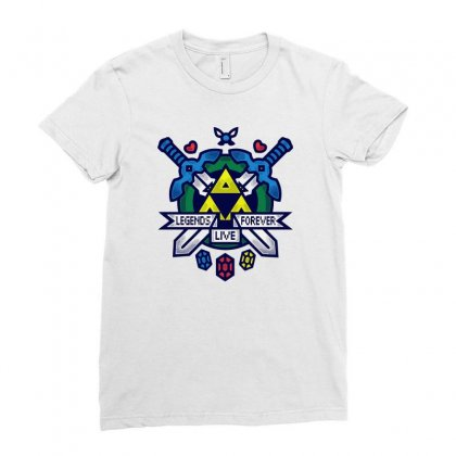 Hit Reset Ladies Fitted T-shirt Designed By Mash Art