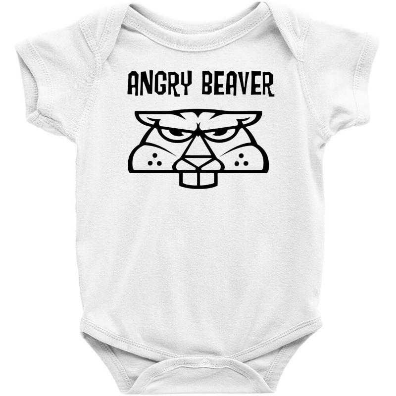 1d4c8ac47e7c Custom Angry Beaver Baby Bodysuit By Firstore - Artistshot