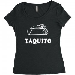 Taco and Taquito Family Matching Women's Triblend Scoop T-shirt | Artistshot
