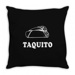 Taco and Taquito Family Matching Throw Pillow | Artistshot