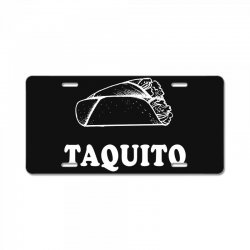 Taco and Taquito Family Matching License Plate | Artistshot
